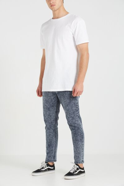 Slim Fit Jean, DARK ACID CROP