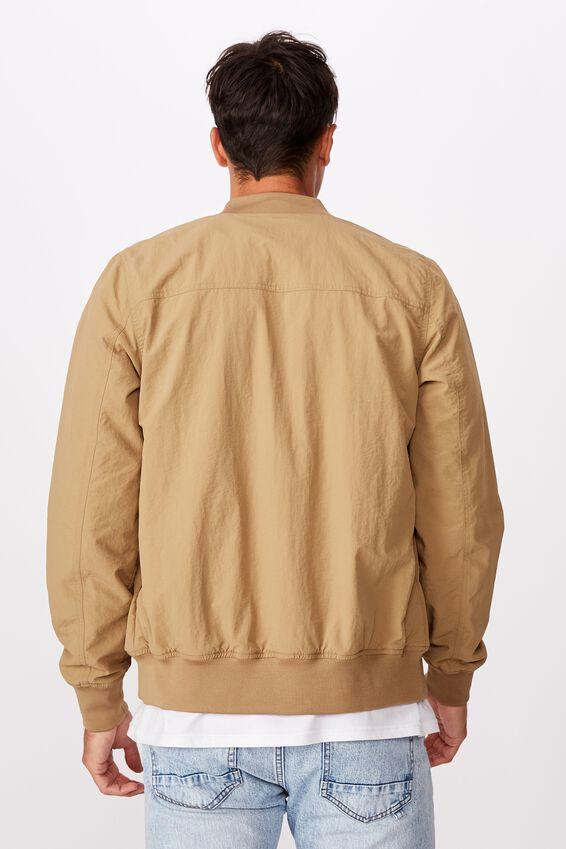 Resort Bomber Jacket, TEXTURED TAN