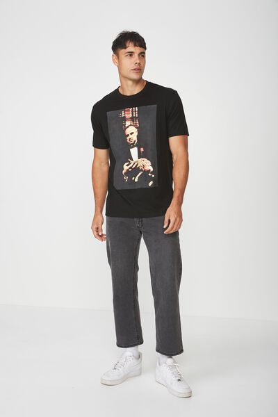 Tbar Collaboration Tee, LC SK8 BLACK/THE GODFATHER - VITO