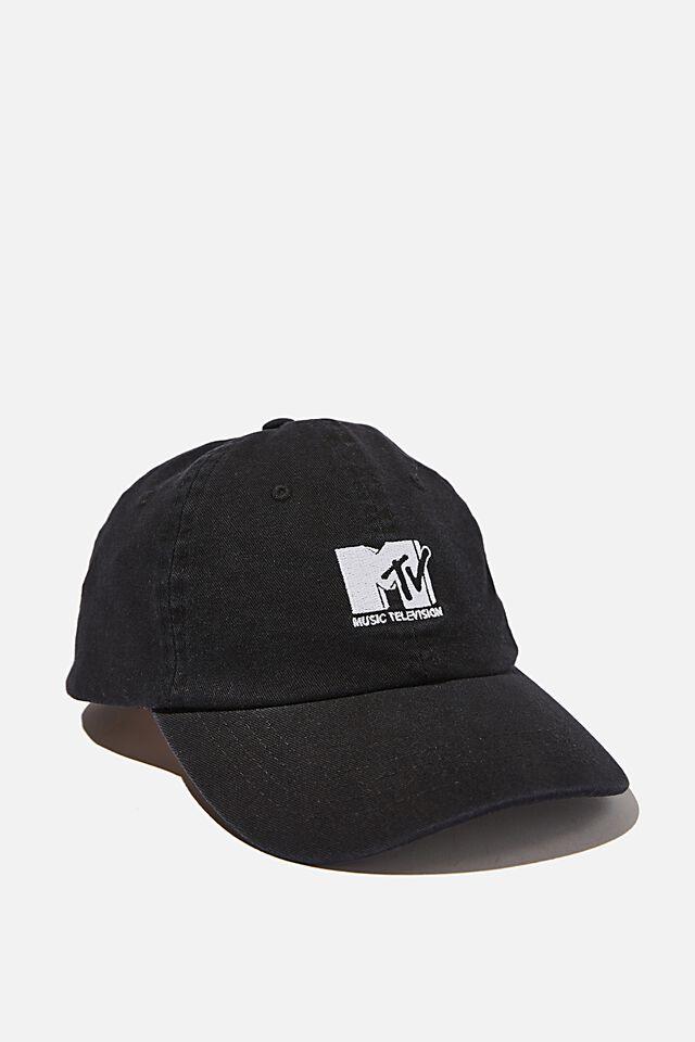Special Edition Dad Hat, LCN MTV BLACK/LOGO