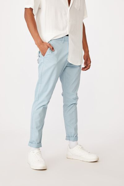 Skinny Stretch Chino, ICE BLUE