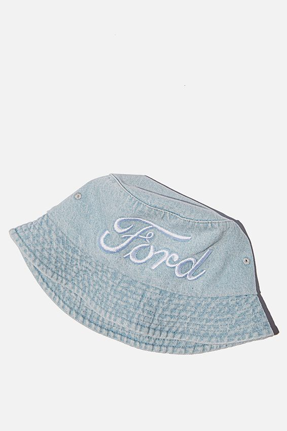 Ford Bucket Hat, LCN FOR DENIM/FORD LOGO