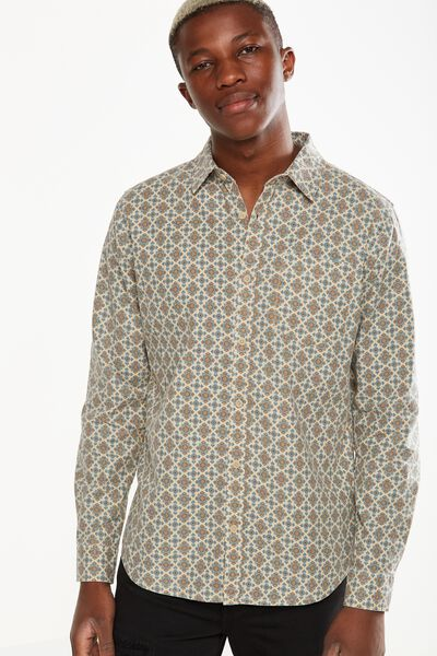 91 Shirt, TAN GEO