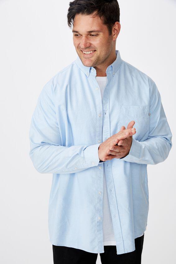 Brunswick Shirt, SKY BLUE OXFORD