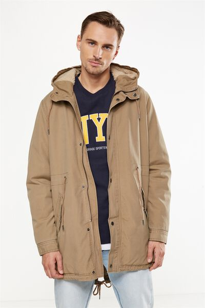 Military Jacket, STONE