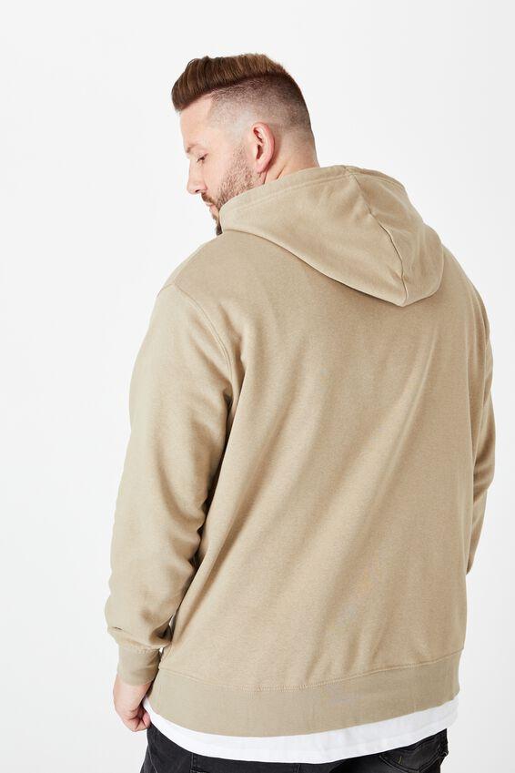 Bg Essential Fleece Pullover, GRAVEL STONE