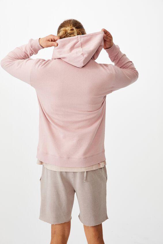 Essential Fleece Pullover, PINK HAZE