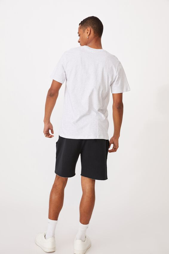 Tbar Text T-Shirt, WHITE MARLE/WEEKEND STUDIO