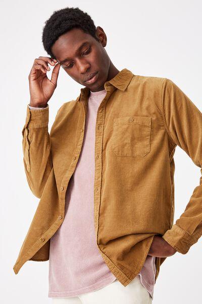 Vintage Cord Shirt, TAN