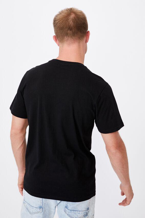 Tbar Collab Character T-Shirt, LCN DIS BLACK/MICKEY MOUSE-METALLIC