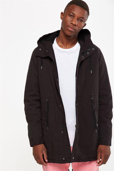 Military Jacket, BLACK