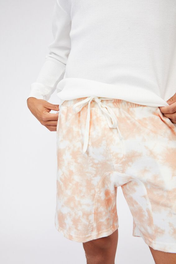 Lounge Short, PEACH TIE DYE