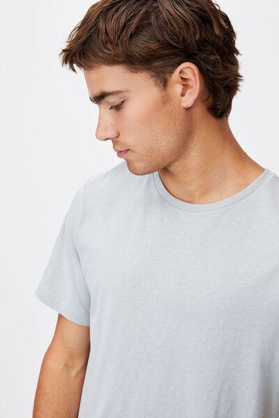 Essential Longline Scoop T-Shirt, BLUE HAZE