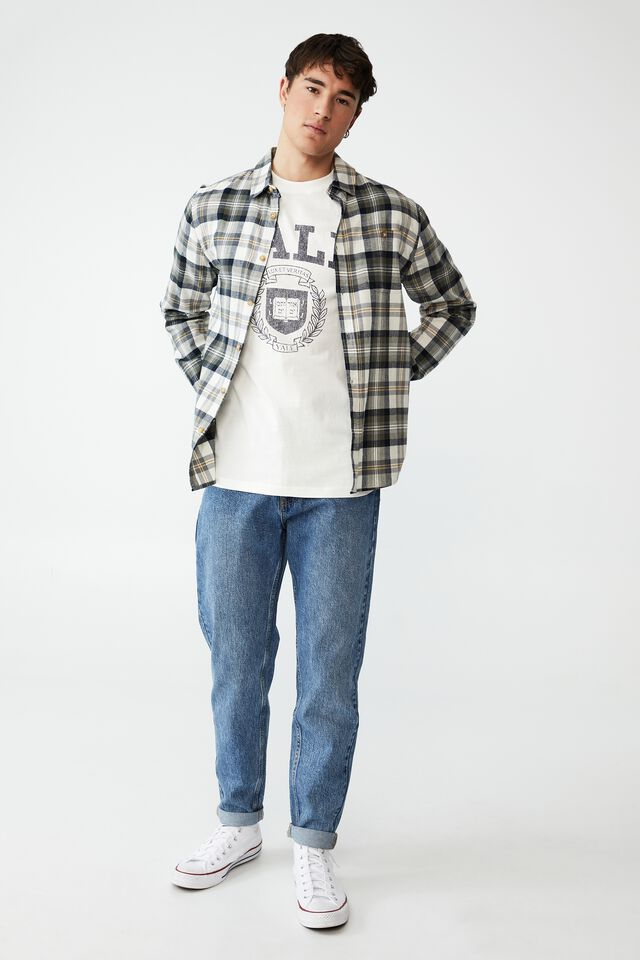 Special Edition T-Shirt, LCN YAL VINTAGE WHITE/YALE - VINTAGE SEAL