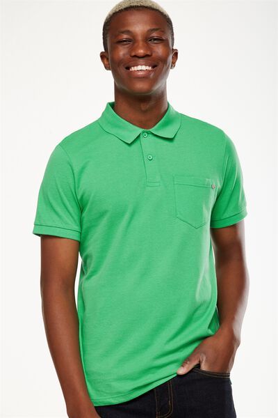 Icon Polo, GREEN POCKET