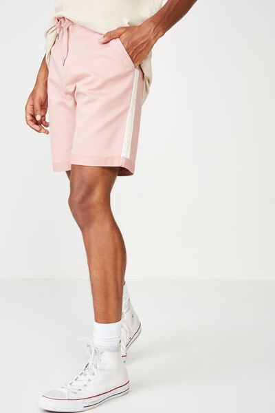 Tailored Casual Short, PINK/SIDE STRIPE