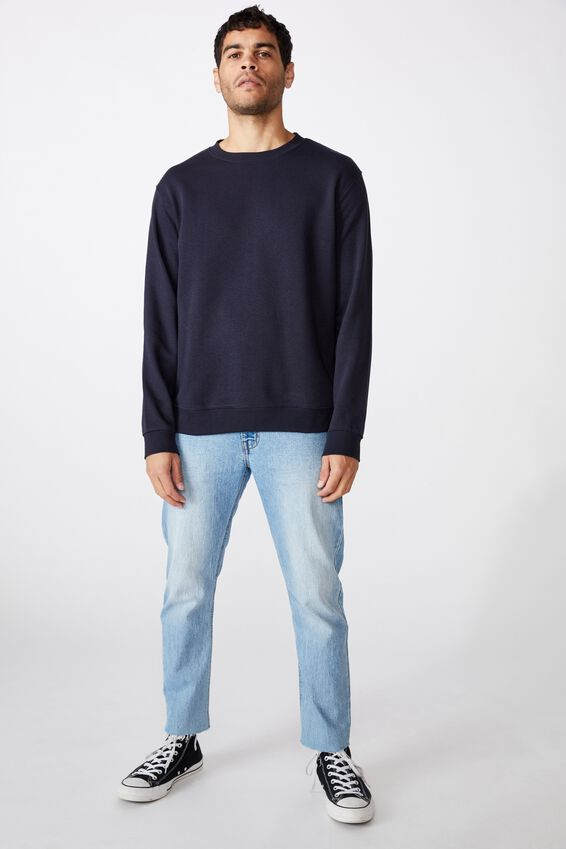 Essential Crew Fleece, INK NAVY