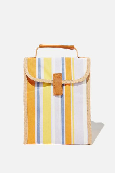 Reusable Lunch Bag, RETRO STRIPE