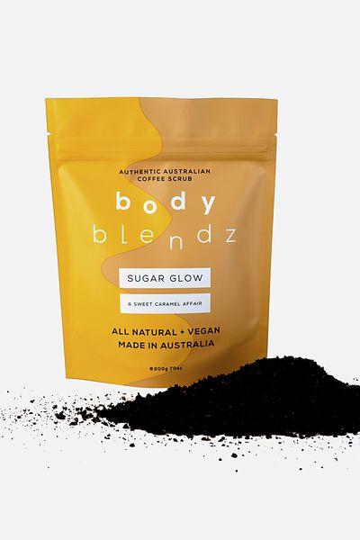 Body Blendz Coffee Scrub, SUGAR GLOW