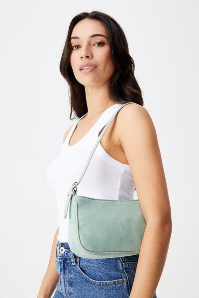 Lexi Underarm Bag, SAGE CORD