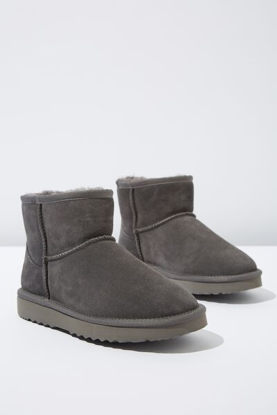 Classic Home Boot, GREY