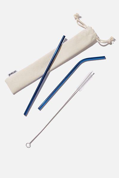 Metal Straw, AQUA