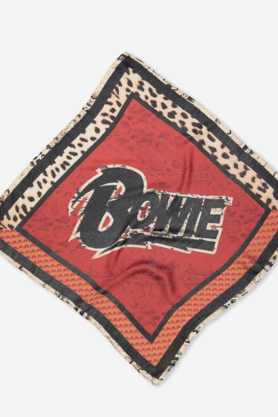Soho Satin Scarf, DAVID BOWIE/ANIMAL BORDER