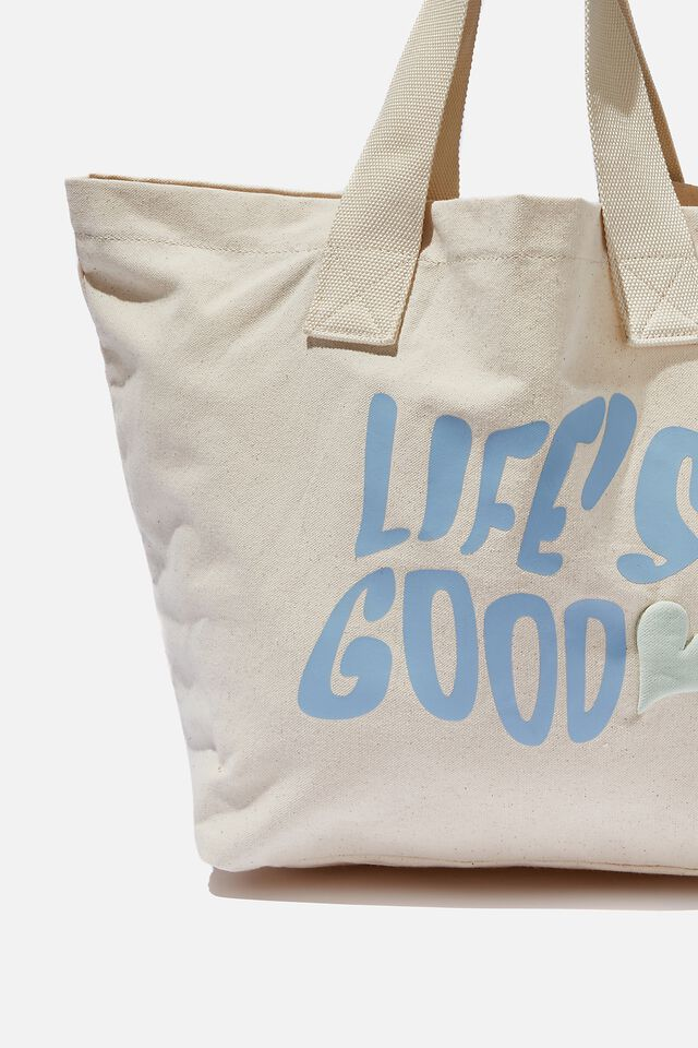 Everyday Canvas Tote, LIFE S GOOD