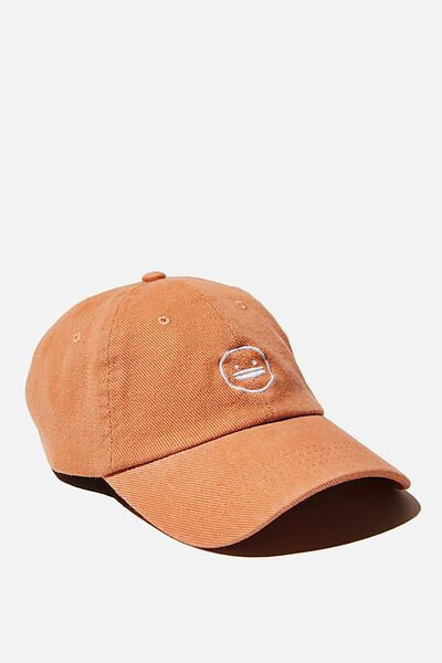 Graphic Dad Cap, LCN IRV IRVINS LOGO/HONEY PINK