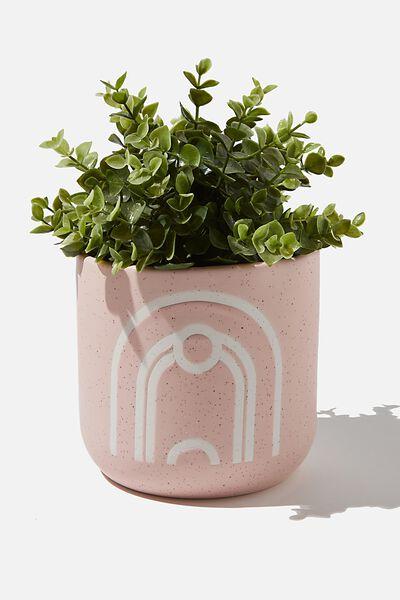 Large Ceramic Pot, PINK