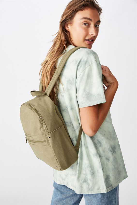 Brazen Backpack, KHAKI WASH CANVAS