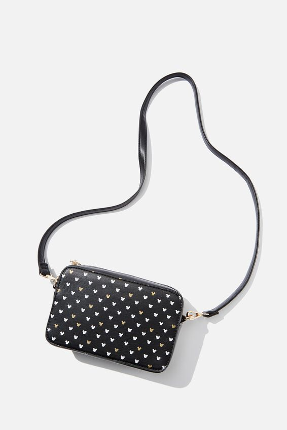 Stevie Boxy Cross Body Bag, LCN MICKEY BLACK