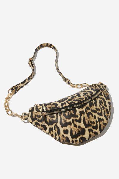Britt Belt Bag, LEOPARD PRINT