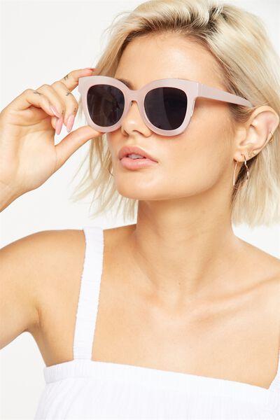Celena D Frame Sunglasses, S.MILKY ROSE