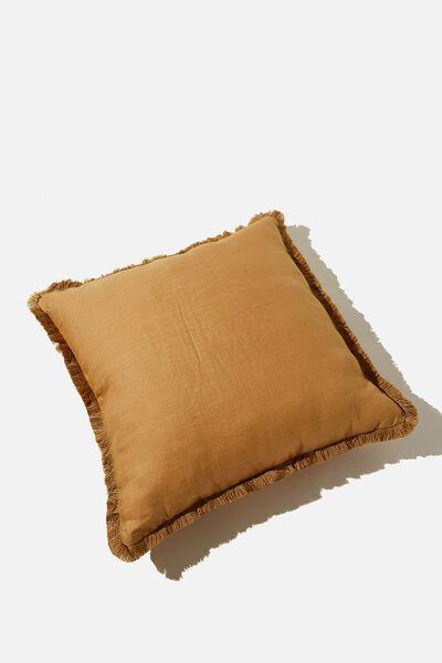 Linen Cushion, BARLEY