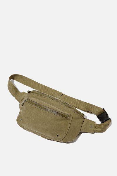 Brazen Belt Bag, KHAKI WASH CANVAS