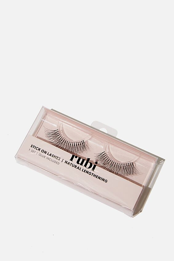 Stick On Lashes, NATURAL LENGTHENING