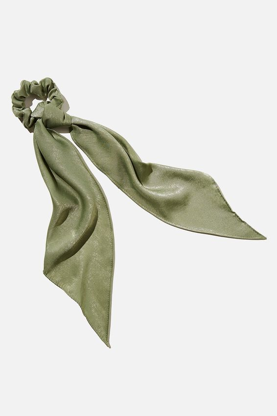 New York Convertible Scrunchie, KHAKI