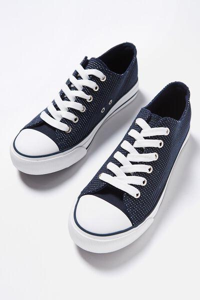 Jodi Low Rise Sneaker 1, NAVY SPOT