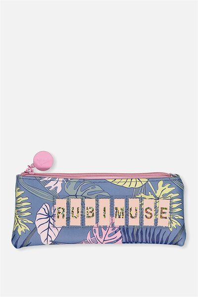 Personalised Mini Cosmetic Case, TROPICAL FLORAL