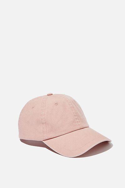 Washed Cap, ROSE DAWN