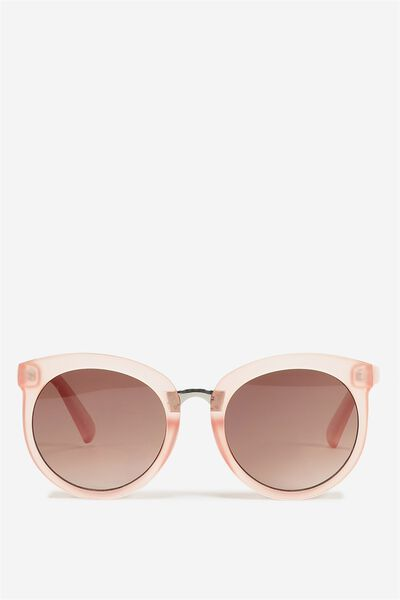 Mia Full Frame Sunglasses, FROSTED ROSE