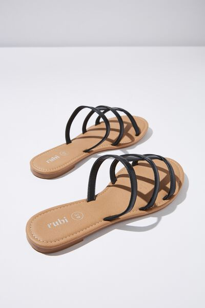 Everyday Caged Slide, BLACK PU