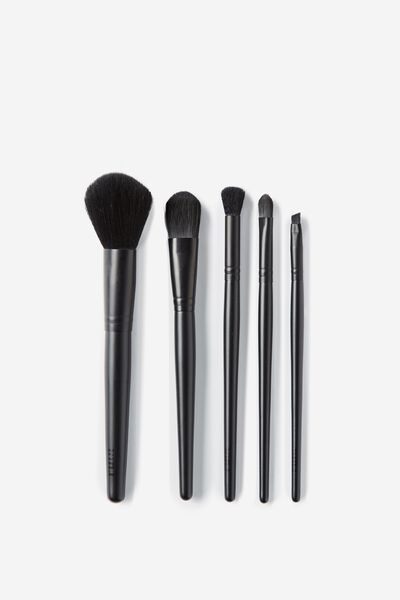 Large Brush Set, MATTE BLACK