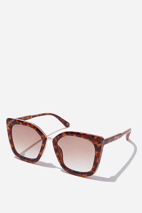 Chels Sunglasses, TORT