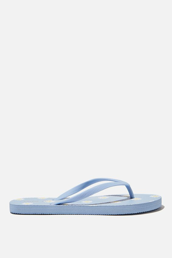 The Rubi Flip Flop, DAISY BLUE