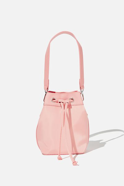 Nylon Bucket Bag, CANDY