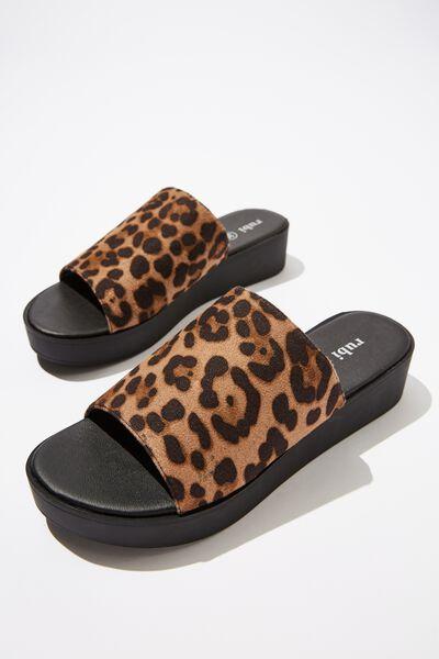 Adina Flatform Sandal, ANIMAL MICRO