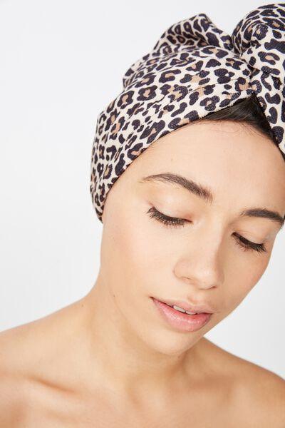 Body Home Spa | Hair Wrap, CHESKA CHEETAH