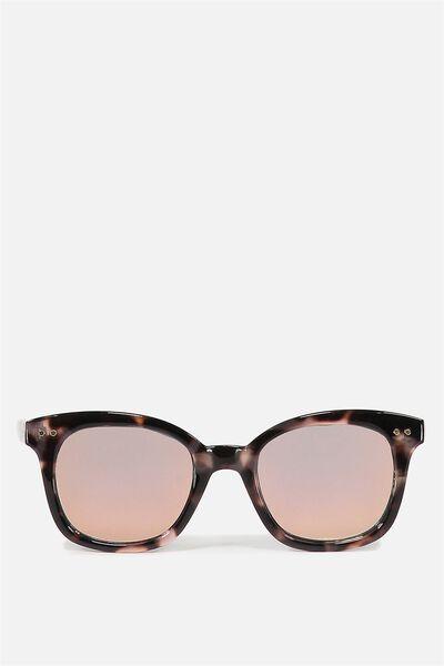 Kendra Full Frame Sunglasses, S.MILKY DESERT PALM